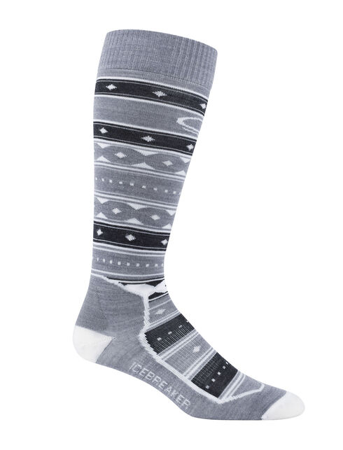 Ski + Ultralight Over the Calf Icon Fairisle
