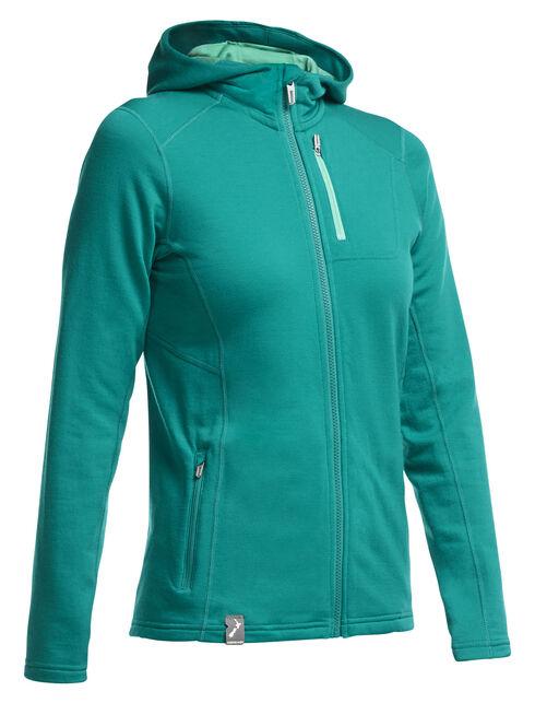 RealFLEECE Cascade Long Sleeve Zip Hood