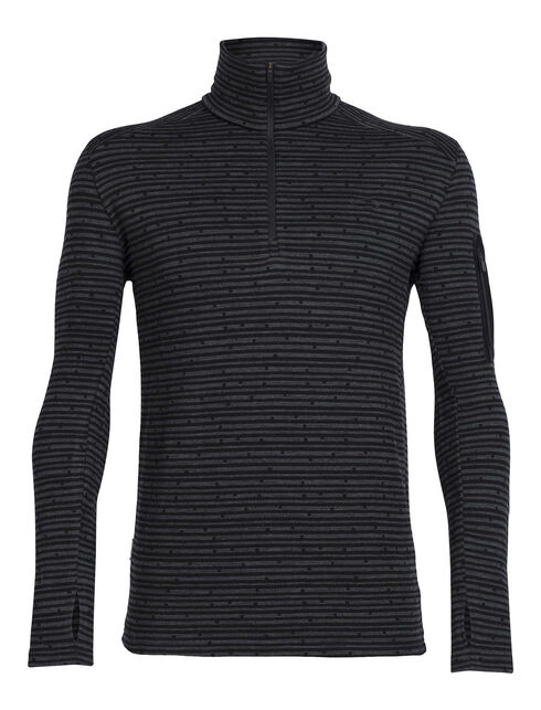 Apex Long Sleeve Half Zip Toothstripe