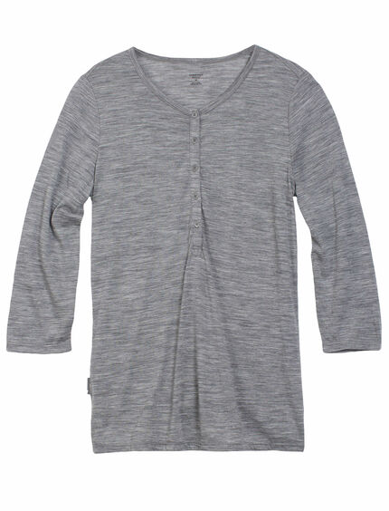 Tech Lite 3/4 Henley