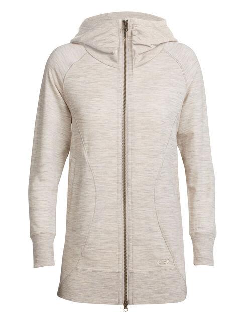 RealFLEECE Dia Long Hooded Jacket