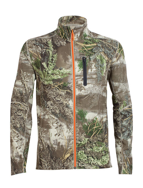RealFLEECE Ika Long Sleeve Zip Real Tree
