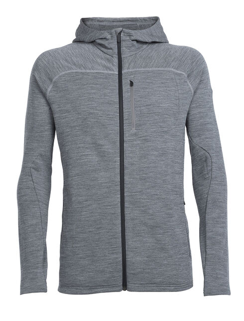 RealFLEECE Mt Elliot Long Sleeve Zip Hood
