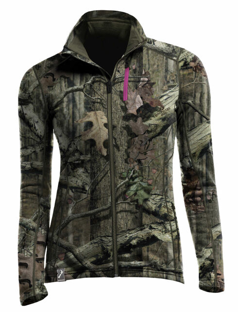 Cascade Long Sleeve Zip Mossy Oak