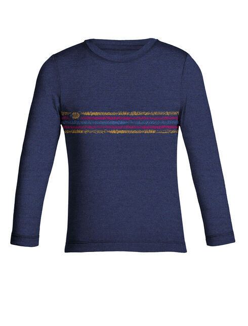 Tech Lite Long Sleeve Crewe Coronet Stripe 2