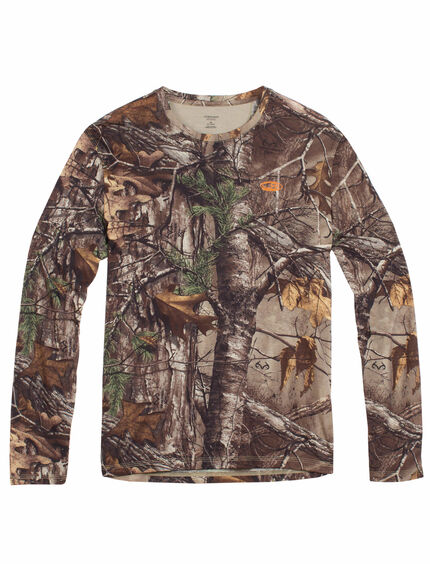 Tech Lite Long Sleeve Crewe Real Tree