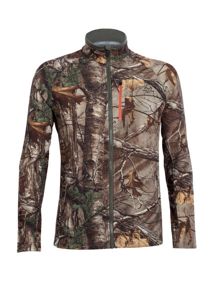 RealFLEECE Sierra Long Sleeve Zip Real Tree