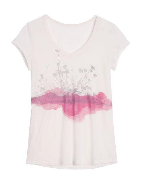 Cool-Lite Spheria Short Sleeve V Lace