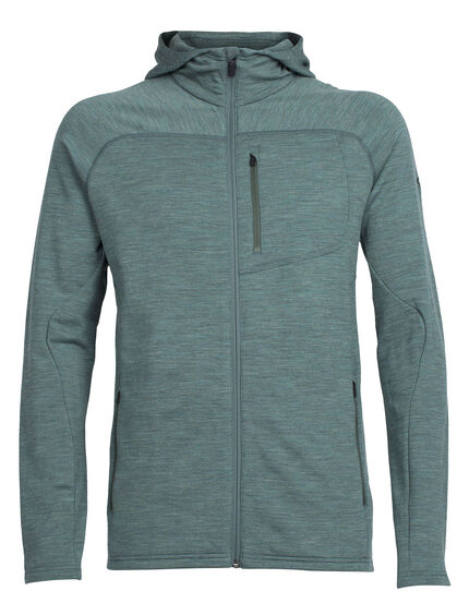 RealFLEECE Mt Elliot Long Sleeve Zip Hood