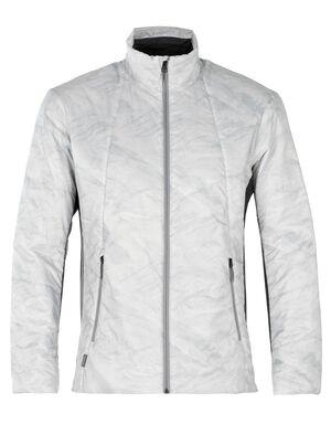 男款 MerinoLoft™ Helix夹克 蕴含先进技术的Helix夹克以环保美丽诺羊毛和再生材料制成,是冬季里日常百搭的中层保暖单品。