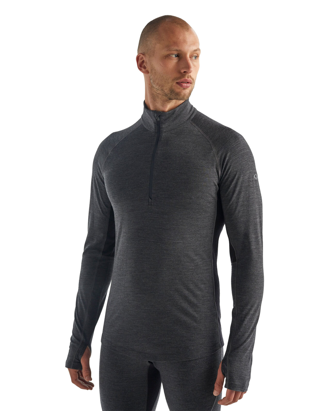 BodyFitZone™ 260 Zone长袖半拉链上衣