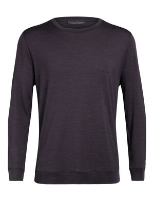 Mens Nature Dye Merino Drayden Long Sleeve Crewe T-Shirt A natural moisture-wicking men's T-shirt made with an odor-resistant merino wool blend, the nature dye Drayden Long Sleeve Crewe balances performance with style.