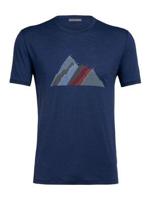 Merino Spector Short Sleeve Crewe T-Shirt Seven Summit Stack