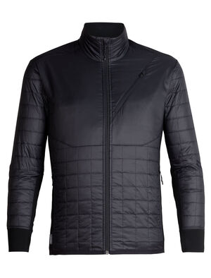 Mens MerinoLOFT™ Helix Long Sleeve Zip Designed as an active alpine midlayer for cold, high-output days of skiing, climbing, snowshoeing or hiking, the Men's Helix Long Sleeve Zip combines sustainable materials with a technical design.