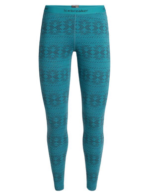 Womens Merino 250 Vertex Thermal Leggings Crystalline Our midweight, 100% merino wool base layer bottoms for optimal comfort and breathability in cold conditions, the 250 Vertex Leggings Crystalline offer a unique look and feel.
