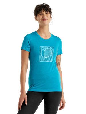 美丽诺羊毛Tech Lite II 短袖T恤(Nature's Orb)