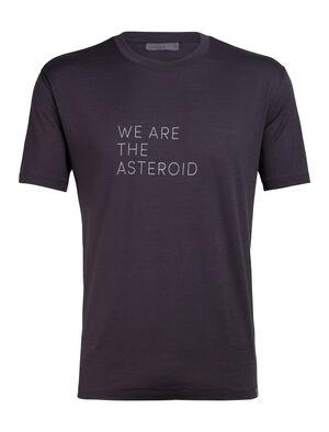 Nature Dye Merino Tech Lite Short Sleeve Crewe T-Shirt Asteroid English