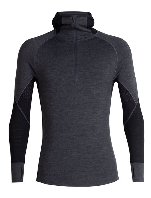 BodyfitZONE™ 260 Zone Long Sleeve Half Zip Hood