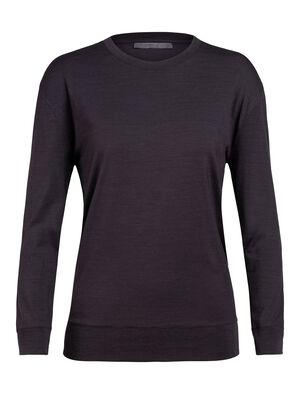 Nature Dye Merino Drayden Long Sleeve Crewe T-Shirt