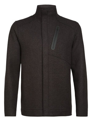 Mens Merino Oak Jacket A sustainable and stylish everyday jacket, the Oak Jacket features felted merino wool with a relaxed, modern silhouette.