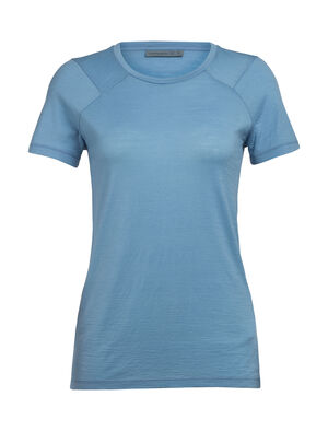 Womens Nature Dye Merino Galen Short Sleeve Crewe T-Shirt A lightweight women's top that's dyed with natural plant pigments, the nature dye Galen Short Sleeve Crewe is comfortable and versatile for home or travel.