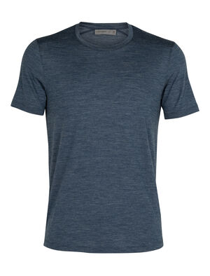 Mens Cool-Lite™ Merino Sphere Short Sleeve Crewe T-Shirt  An ultralight T-shirt for warm-weather travels and everyday comfort, the Sphere Short Sleeve Crewe is made with our soft and durable 130gm Cool-Lite™ jersey fabric.