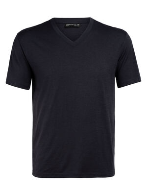 Homme 旅 TABI Tech Lite Short Sleeve V De collection 旅 TABI, une collaboration avec la maison de couture japonaise GOLDWIN, le Tech Lite Short Sleeve V est un haut à col en V léger en laine mérinos pour homme, offrant style et confort tous les jours.