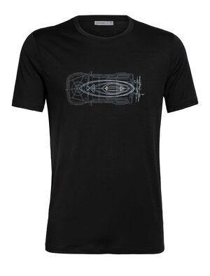 Merino Tech Lite Short Sleeve Crewe T-Shirt Wireframe Wonder