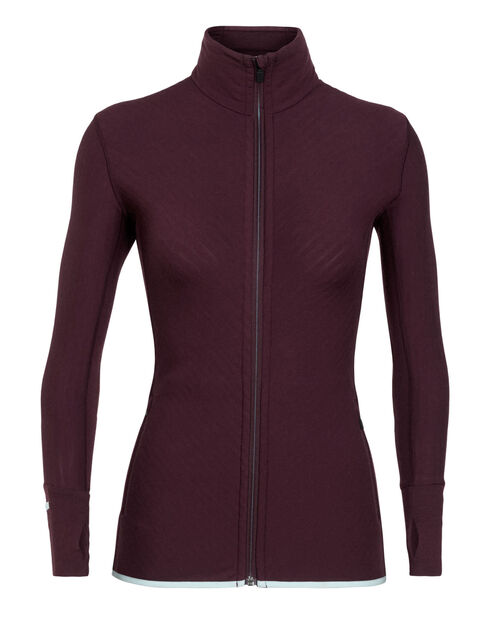Women's Descender Long Sleeve Zip