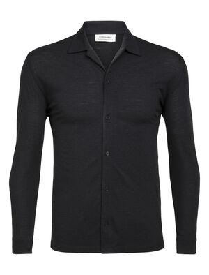 Merino Pique långärmad skjorta