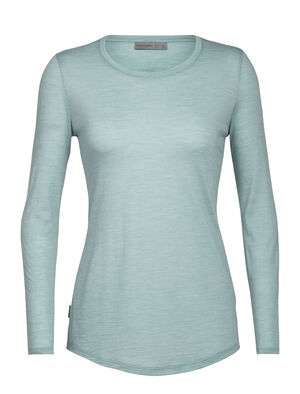 Cool-Lite™ Merino Sphere Long Sleeve Low Crewe T-Shirt