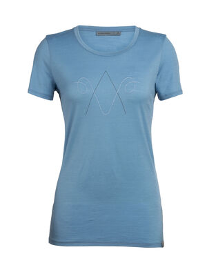 Womens Nature Dye Tech Lite Short Sleeve Low Crewe Anniversary Ram Our most versatile women's merino wool tech tee, the nature dye Tech Lite Short Sleeve Low Crewe Anniversary Ram is dyed naturally and provides stretch, comfort, breathability and odor-resistance for just about any adventure.