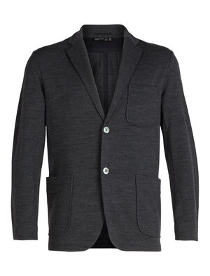Mens 旅 TABI Tech Blazer This sleek blazer features modern aesthetics with a soft, breathable and stretchy blend of merino wool and LYCRA®—an ideal everyday layering piece for the office or cool-weather style and comfort.
