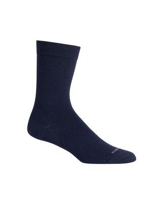 美丽诺羊毛休闲系列细针中筒袜