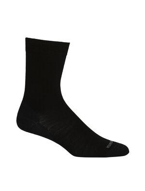 Merino Lifestyle Fine Gauge Crew Socks