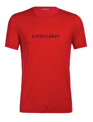 Tech Lite Short Sleeve Crewe Icebreaker Wordmark
