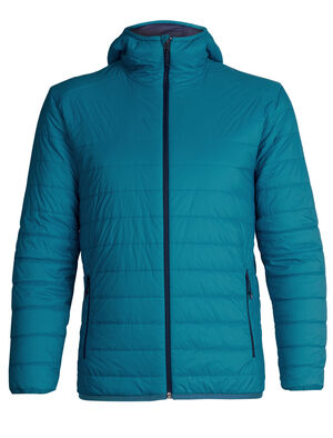 Mens MerinoLOFT™ Hyperia Hooded Jacket A technical hooded insulator designed for outdoor pursuits where you need both warmth and lightweight packability, the Hyperia Hooded Jacket is an alpine essential. It sheds wind and light precipitation when conditions change unexpectedly and is easily packable into included stuff sack.