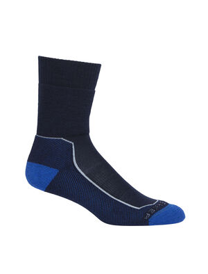 Womens Merino Hike+ Medium Crew Socks Lightweight, durable and odor-resistant trail socks designed for maximum comfort and premium fit, our Hike+ Medium Crew socks are ideal for long hikes and multi-day backpacking.