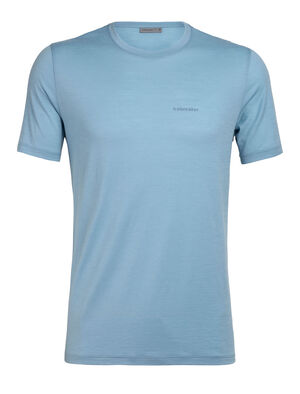 Mens Tech Lite Short Sleeve Crewe Icebreaker Wordmark Nature Answers Our most versatile men's merino wool tech tee, the Tech Lite Short Sleeve Crewe icebreaker Wordmark Nature Answers provides stretch, comfort, breathability and odor-resistance for just about any adventure you can think of.