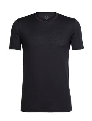 Mens Tech Lite Short Sleeve Crewe Our most versatile men's merino wool tech tee, the Tech Lite Short Sleeve Crewe provides stretch, comfort, breathability and odor-resistance for just about any adventure you can think of.