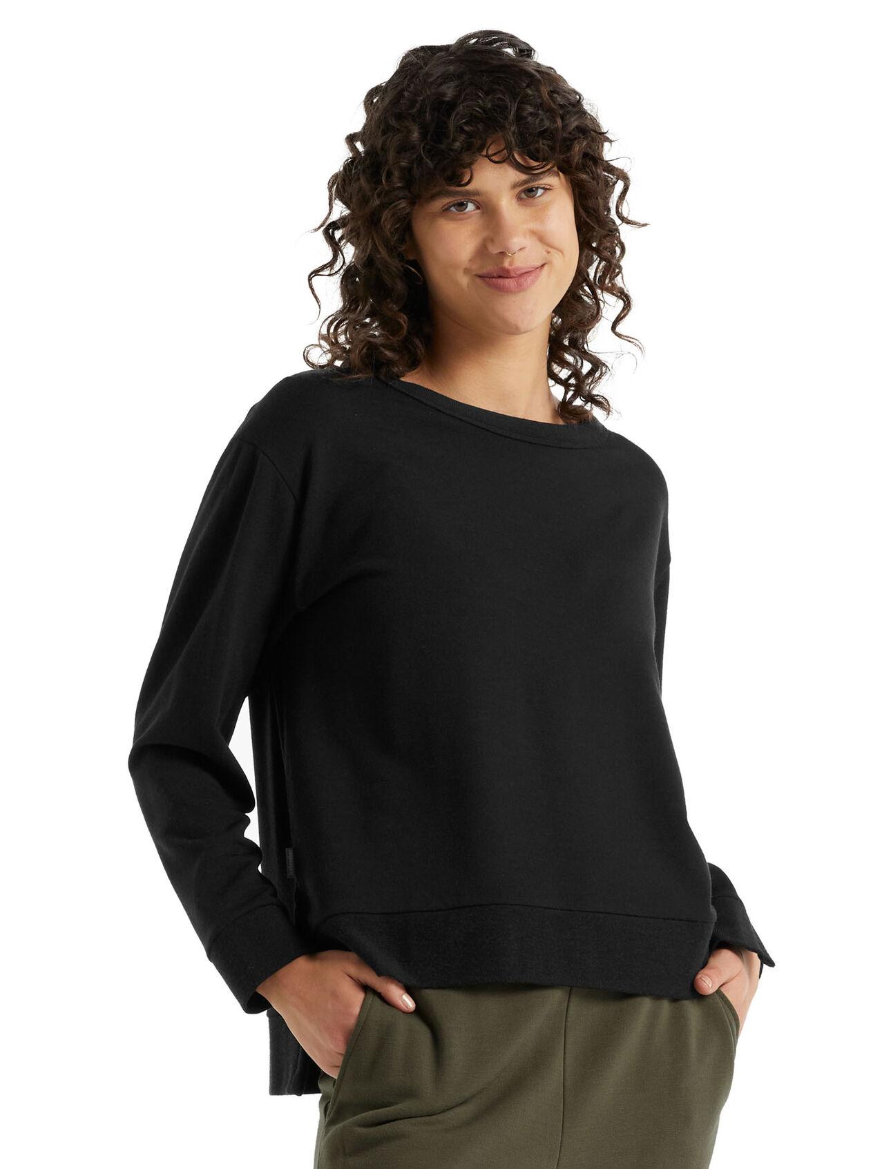 RealFleece™ Merino Dalston Long Sleeve Sweatshirt