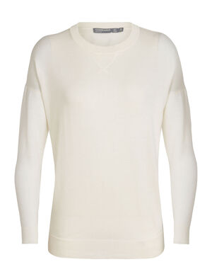 Womens Cool-Lite™ Nova Sweater Sweatshirt A lightweight, everyday women's sweater featuring a relaxed fit and our cool-lite™ merino wool blend, the Nova Sweater Sweatshirt combines a classic look with breathable, ultra-soft performance.