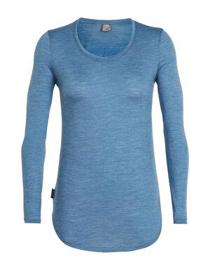 Cool-Lite™ Solace长袖低圆领上衣