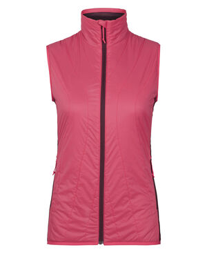 Womens MerinoLOFT™ Hyperia Lite Hybrid Vest A technical insulating women's vest made with our 100gm MerinoLOFT™ insulation, the Hyperia Lite Hybrid Vest is an eco-friendly puffy vest for climbing, skiing and other technical alpine adventures that is packable within its own internal pocket.