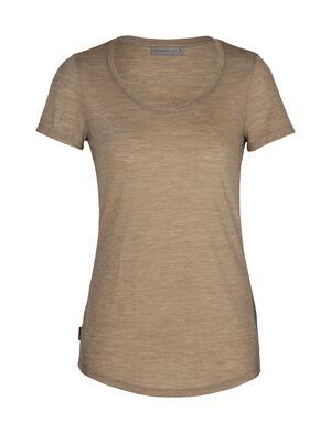 Damen Cool-Lite™ Merino Sphere kurzärmliges T-Shirt mit U-Ausschnitt Ein seidig-weiches Merino T-Shirt mit modernem Look und tiefem Ausschnitt, das kurzärmlige Sphere T-Shirt mit U-Ausschnitt ist ein leichtes und komfortables Sommer-Basic aus unserem Cool-Lite™ Jersey.