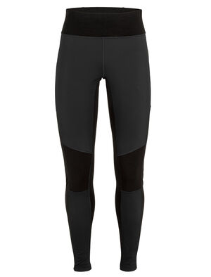 Womens Cool-Lite™ Merino Tech Trainer Hybrid Leggings Our technical training tights for cool, mixed conditions, the Tech Trainer Hybrid Leggings combine a weather-resistant, stretch-woven outer shell with comfortable and highly breathable Cool-Lite™ fabric.