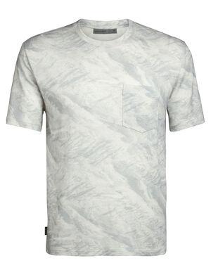 200 kortärmad t-shirt IB Glacier med ficka och rund halsringning