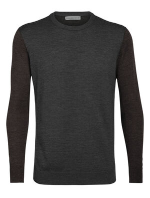 Mens Merino Shearer Crewe Sweater A stylish knit pullover designed for daily comfort, the Shearer Crewe Sweater in 100% merino wool is breathable, odor-resistant and incredibly soft.