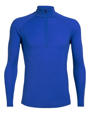 Mens BodyfitZone™ Merino 150 Zone Long Sleeve Half Zip Thermal Top Our lightest base layer top that's perfect for active adventure and everyday training, the 150 Zone Long Sleeve Half Zip features 150gm jersey corespun with LYCRA® to maximize flexibility.