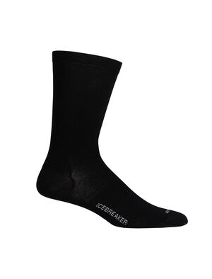 Mens Cool-Lite™ Merino Lifestyle Crew Socks Ultralight, soft, and breathable for everyday comfort in warm conditions, the Lifestyle Cool-Lite™ Crew socks are made with a luxurious blend of merino and TENCEL®, with reinforced heels and toes.